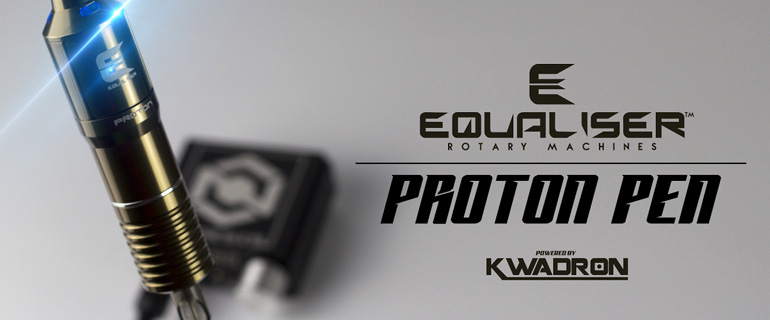 Equaliser Rotary Tattoo Machine Proton Pen by Kwadron